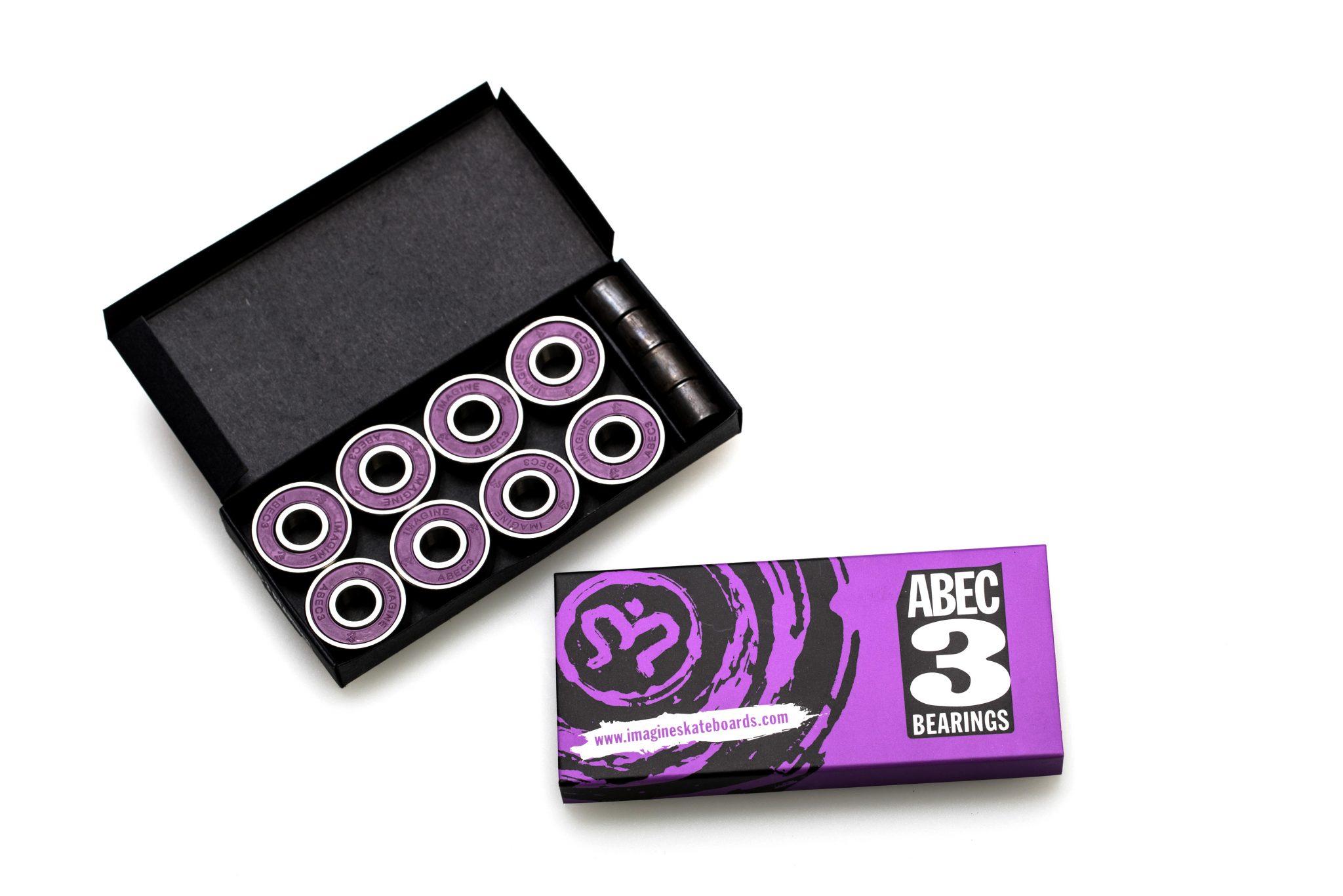 ABEC 3 Bearings - Imagine Skateboards