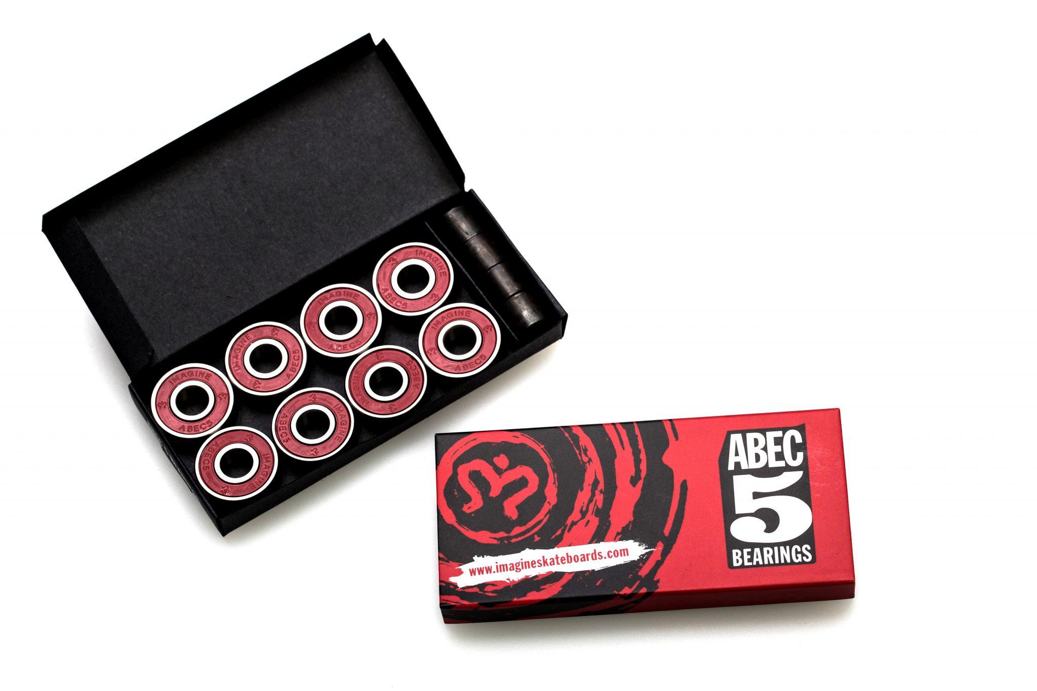 ABEC 5 Bearings - Imagine Skateboards