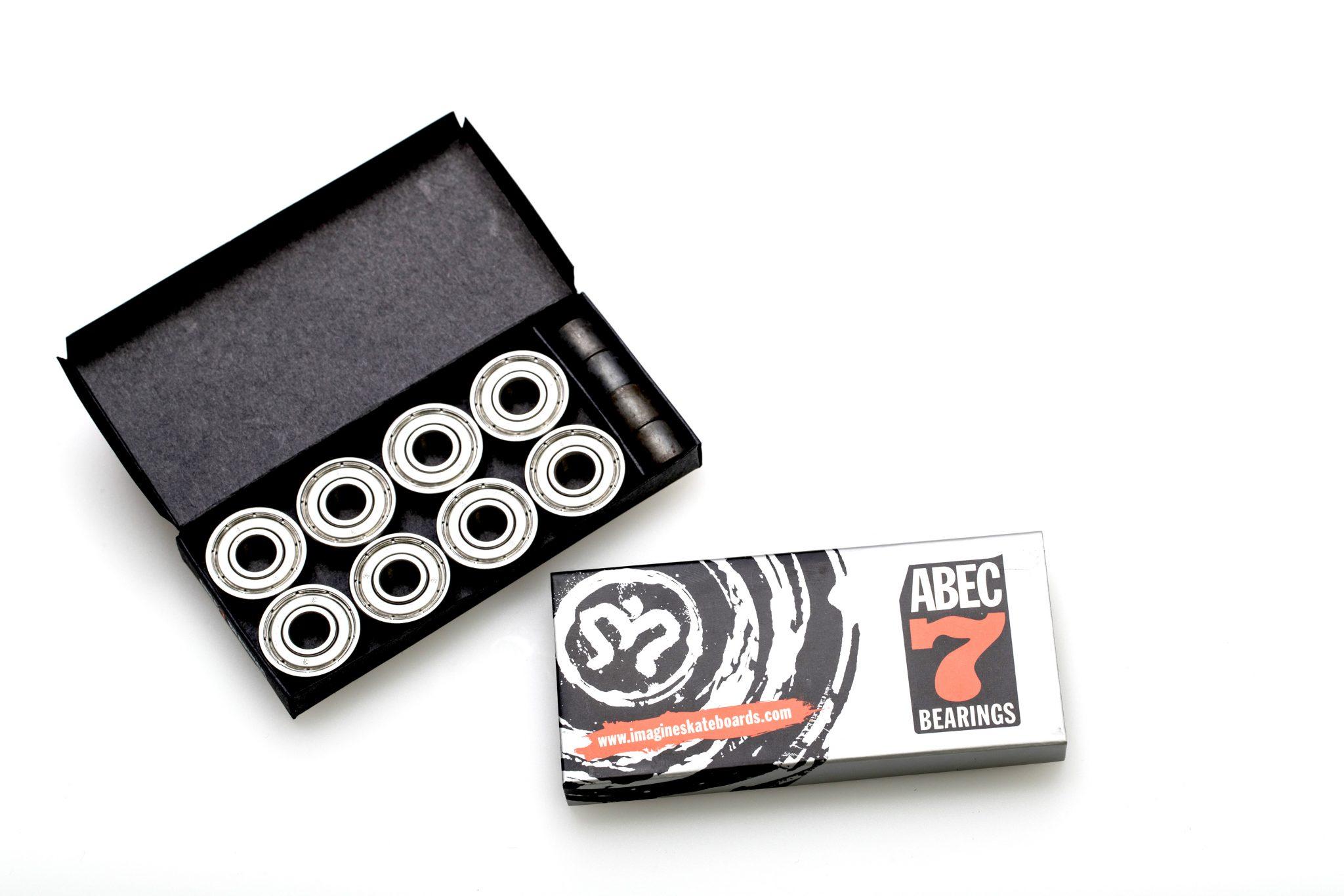 ABEC 7 STEEL Bearings - Imagine Skateboards