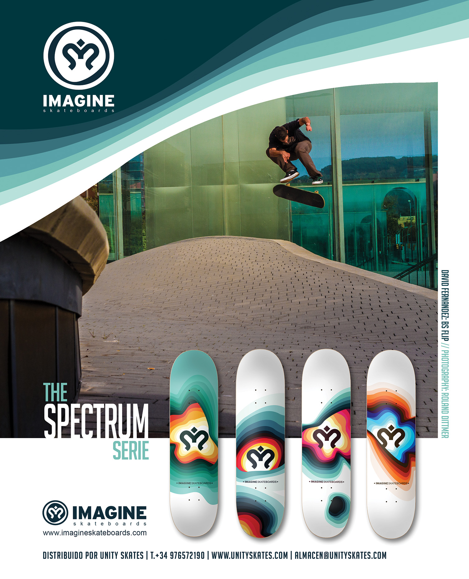 Ads Spectrum Series - Imagine Skateboards